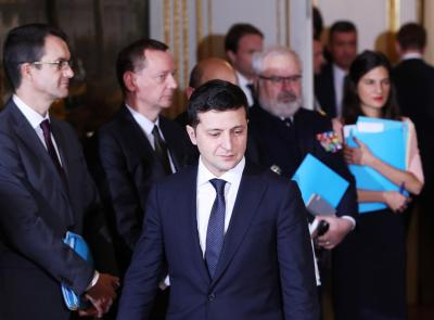 Ukrainian president in hospital with Covid-19