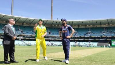 1st ODI: Australia opt to bat against India