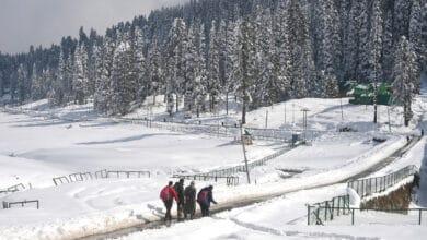 Photo of Season's first snowfall in Gulmarg