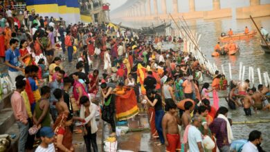 Photo of 'Chhath' festival in India