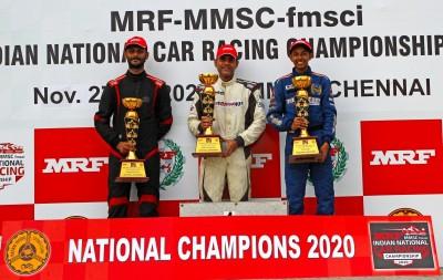 4W Indian National Championship: Balu wins ITC title