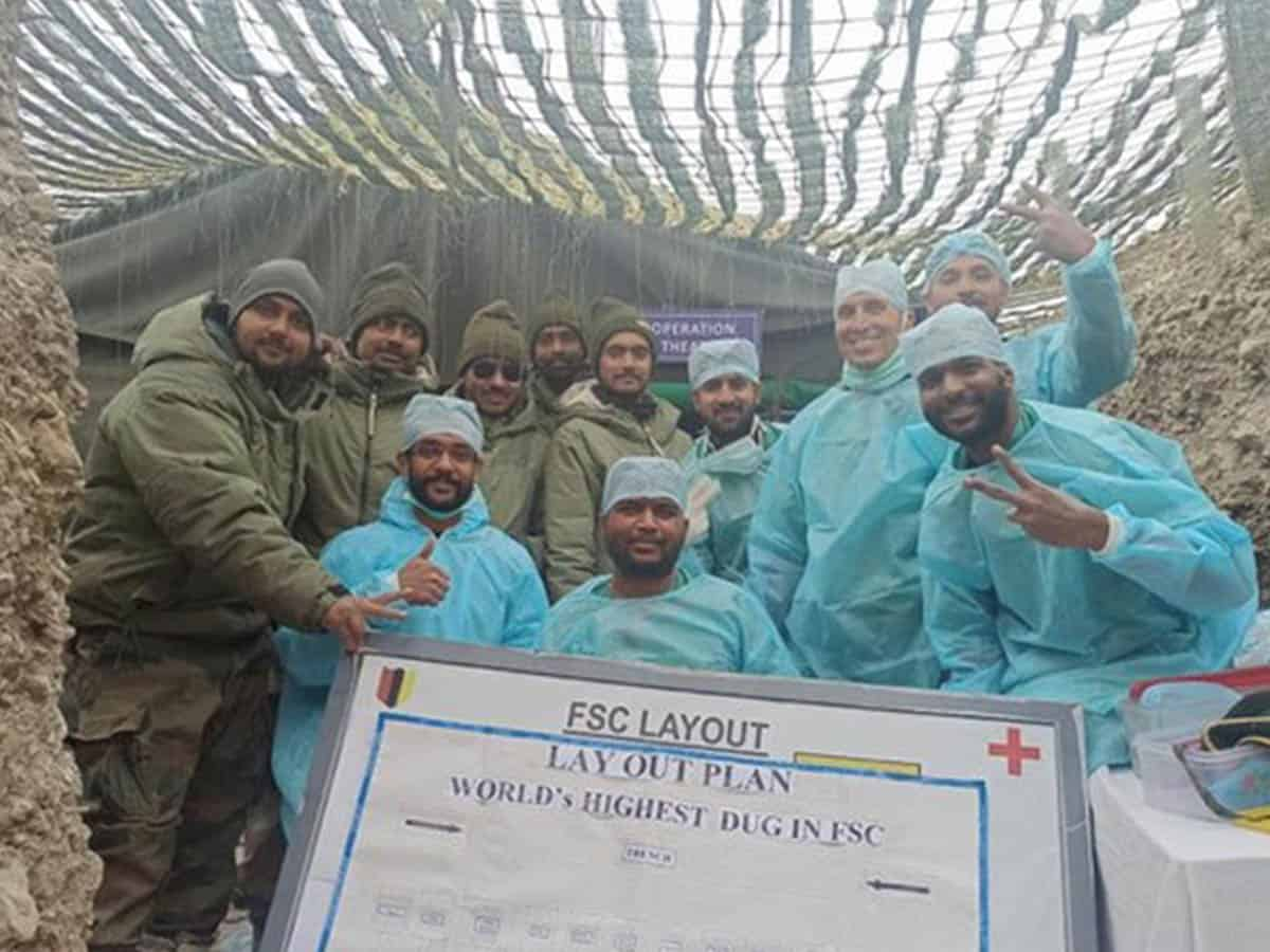 Army doctors successfully remove soldier's appendix at 16,000 feet