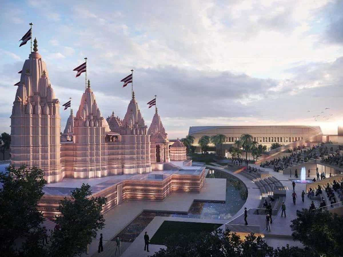 Final design of Abu Dhabi's first Hindu temple released