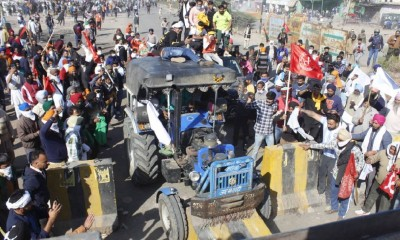 Another batch of farmers march to Delhi defying tear gas (2nd Ld)