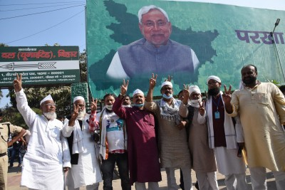 Anti-incumbency defying but dwarfed: What Nitish7.0 means? (Ld)