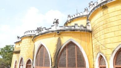 Photo of Additional portion of Asmangadh Palace demolished