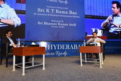 Attempt to disturb Hyderabad's communal harmony a cardinal sin: KTR