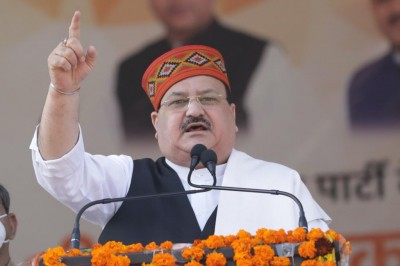 Time for KCR to go, says BJP chief Nadda in Hyderabad