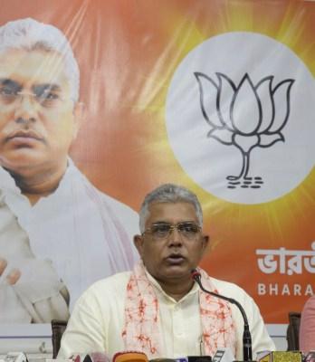 BJP-led NDA will form govt in Bihar, says Dilip Ghosh