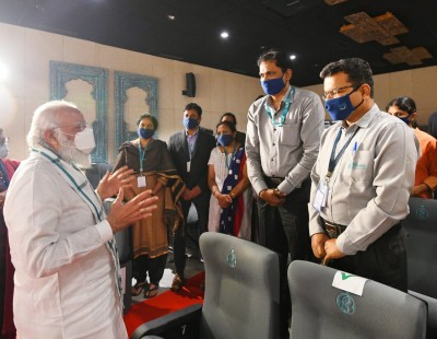 Bharat Biotech working with ICMR for speedy progress: PM (2nd Ld)