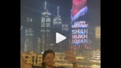 Photo of Shah Rukh Khan turns 55; Burj Khalifa lit up with actor's image