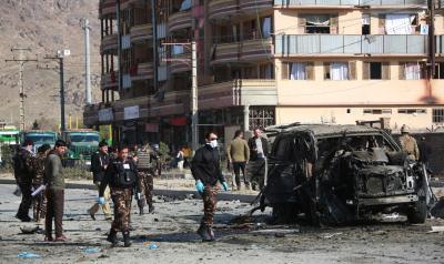 Civilian injured in Kabul IED blasts