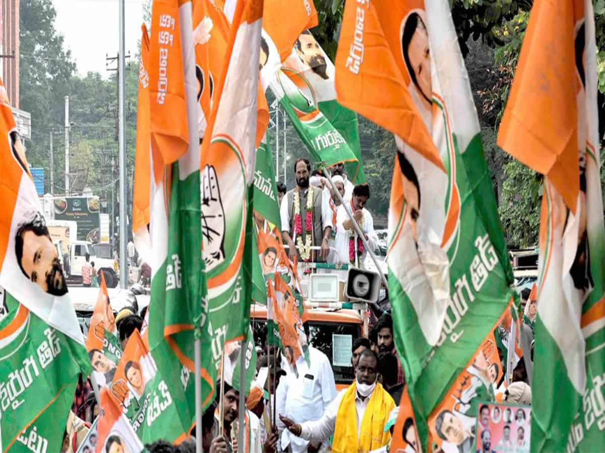 TRS-BJP-MIM campaigning for GHMC polls on non-issues: Congress