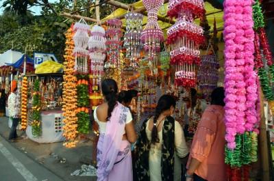 Covid casts shadow on Diwali shopping in Hyderabad