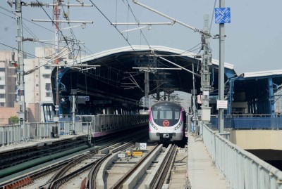 DMRC closes six stations on Green Line due to farmers' protest