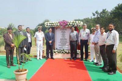 DRDO chairman inaugurates air launch test facility in Vizag