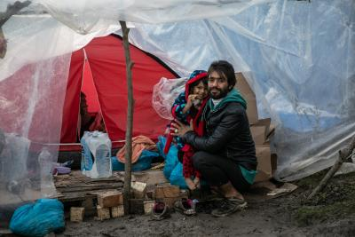 Displaced Syrians eager to leave refugee camp for home
