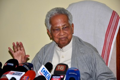 Ex-Assam CM Tarun Gogoi cremated with full state honours