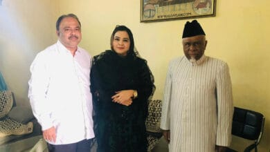 Photo of Hyderabad's karate champion Syeda Falak forays into politics; joins MIM