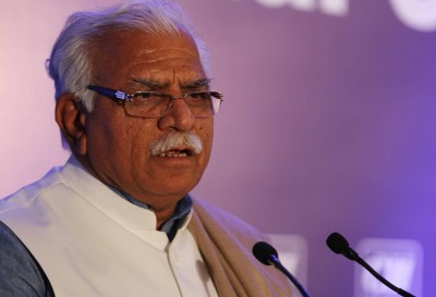 Farmers' protests backed by unwanted elements who raised Khalistani slogans: Khattar (Ld)