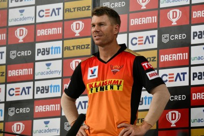 Feels good, after that dreadfull loss to KXIP: SRH captain Warner