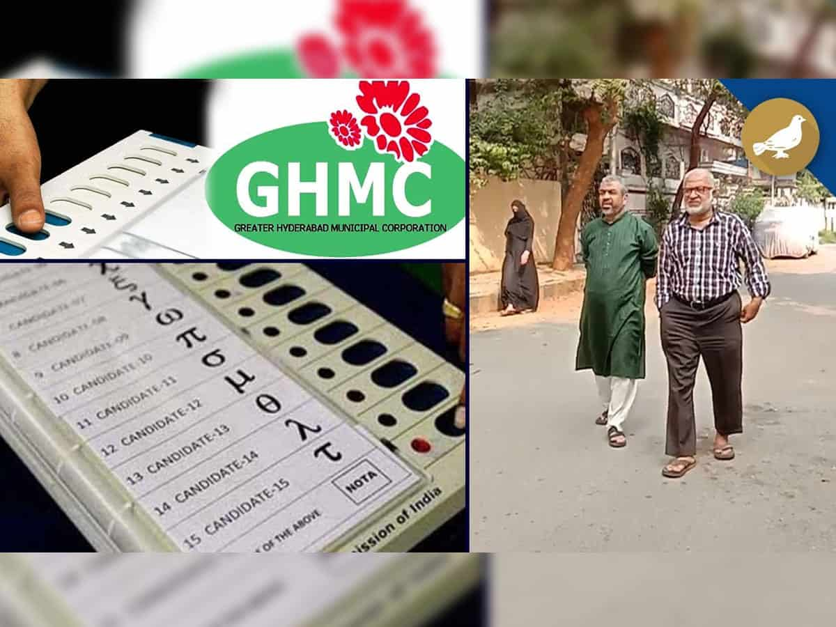GHMC Elections: Welfare associations of Tolichowki campaign for NOTA