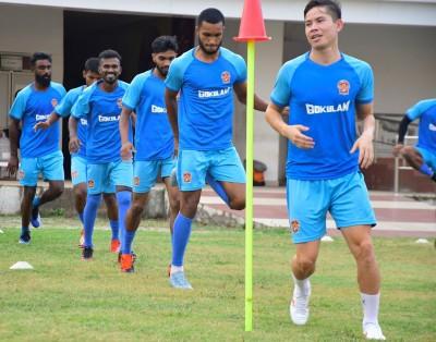 GKFC kick off pre-season training in Kozhikode