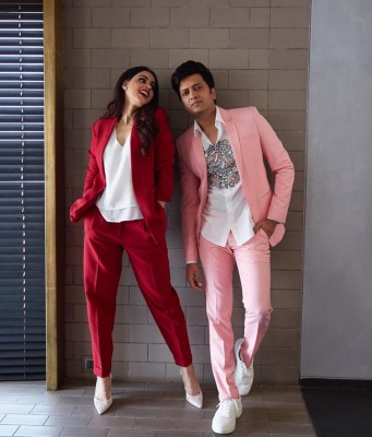 Genelia excited to share screen with hubby Riteish again
