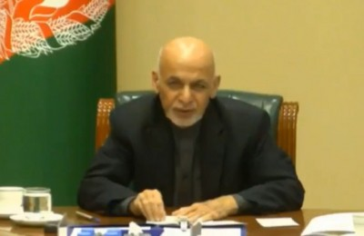 Ghani calls for immediate ceasefire at Geneva conference