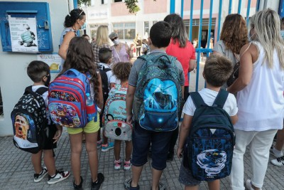 Greece to close primary schools, kindergartens after imposing lockdown