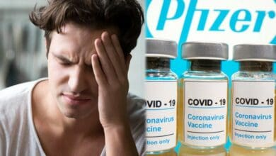 Photo of Pfizer COVID-19 vaccine trial volunteers face 'severe hangover'