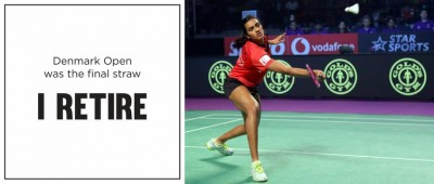 I RETIRE: Sindhu gives fans a 'heart attack'