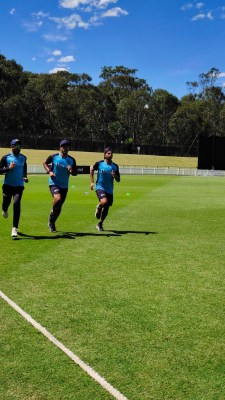 Indian team begins training with gym and running in Australia