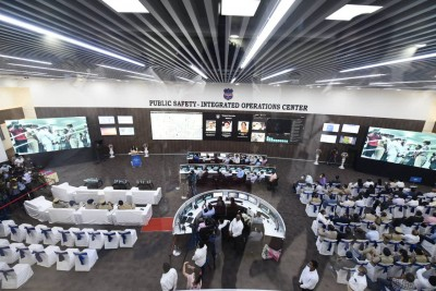 Integrated police operations centre launched in Cyberabad