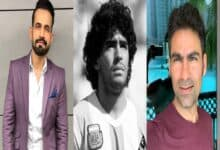 Photo of Irfan Pathan, Mohammad Kaif condole demise of Maradona