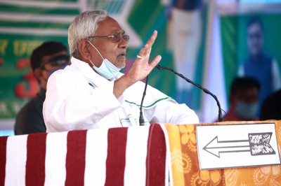 'It is my last election,' Nitish announces at poll rally