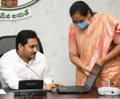 Jagan launches women's safety app Abhayam in Vizag