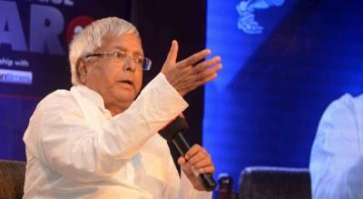 Jharkhand BJP demands criminal case against Lalu Yadav for making a call in judicial custody
