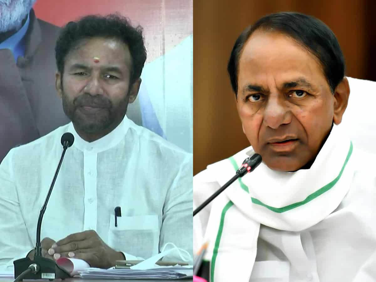 BJP is out to dent KCR's image as 'Bahubali' in Hyderabad