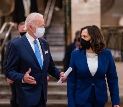 Kamala Harris speaks first, Joe Biden goes next: A pattern slowly emerges