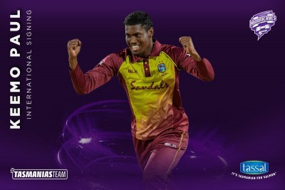 Keemo Paul to make BBL debut with Hobart Hurricanes
