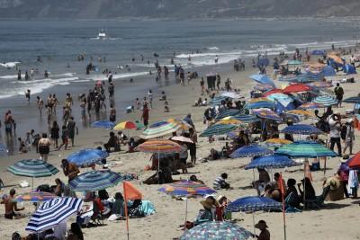 LA reports record spike in daily Covid-19 cases