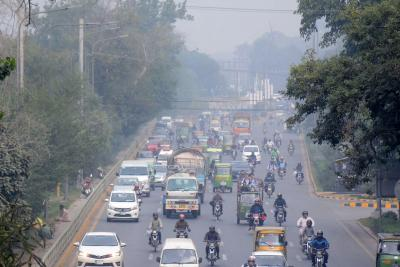 Lahore again tops list of world's most polluted cities