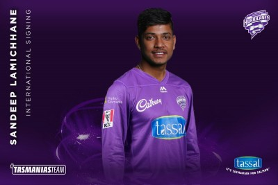 Lamichhane to play for Hobart Hurricanes in BBL 10