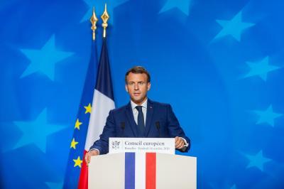 Macron says video of police beating black man 'unacceptable'