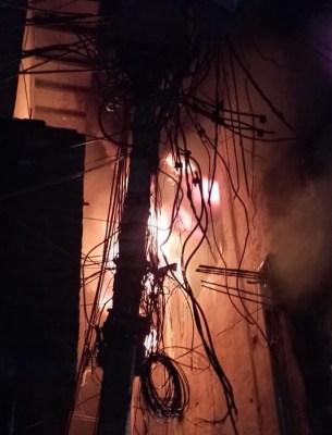 Major Fire in Gandhi Nagar cloth market in Delhi