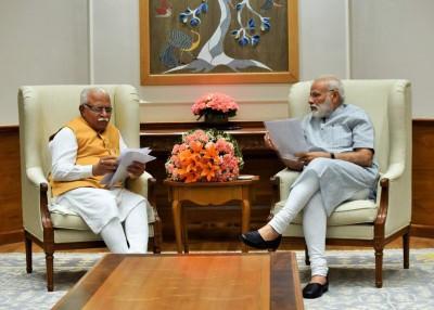 'Manohar ji...': When PM intervened amid Haryana CM's address