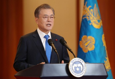 Moon requests public support for antivirus campaign