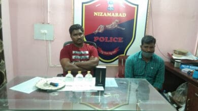 Photo of Inspector, sub-inspector, driver held in bribery case in Telangana