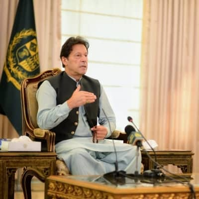 Never pressured by military leadership on any matter: Imran